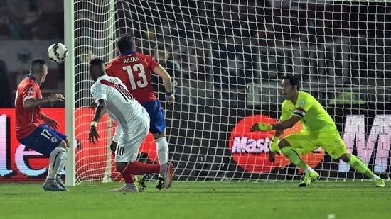 Chile 2-1 Peru: Bravo is expected to capture his fourth crown