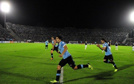 乌拉圭四入附加赛 超级锋霸誓将横扫亚洲黑马
