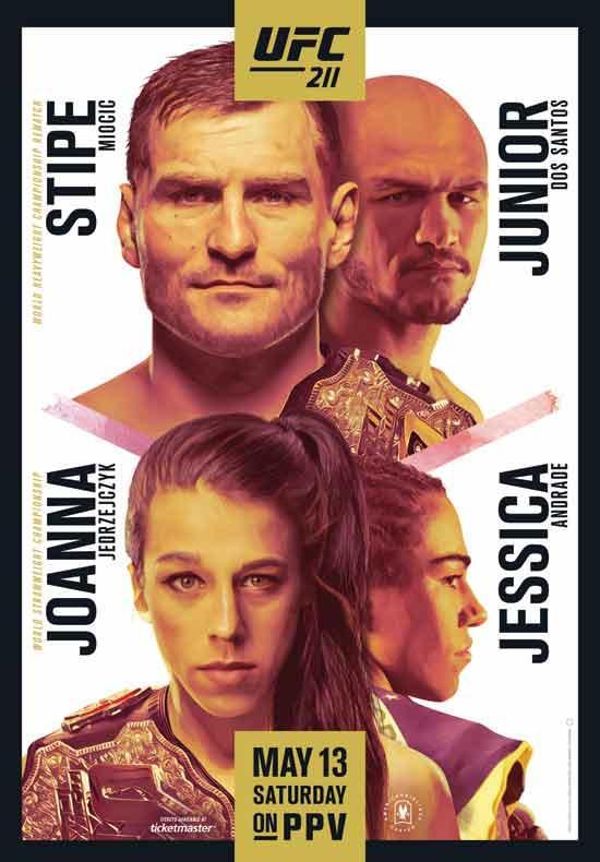 UFC211:桑托斯二战老对手 乔安娜迎重炮手挑战