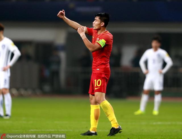 37岁国足队长首次赢韩国 乌龙大礼?见鬼去吧