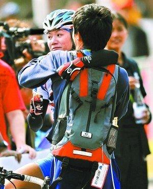 中华台北女车手:奖金是支撑我完成比赛动力