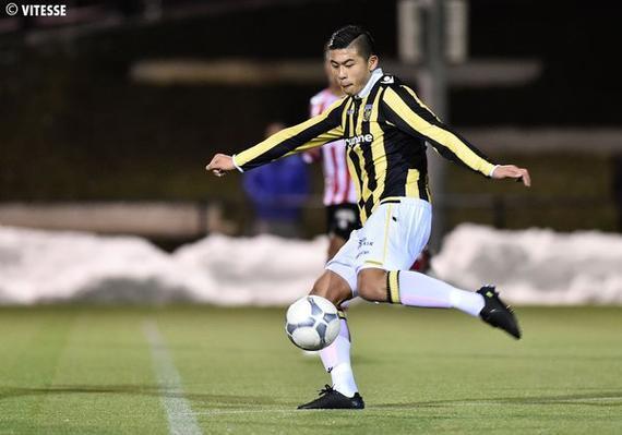 张玉宁收获荷兰赛场首球 梅开二度助球队5-2胜