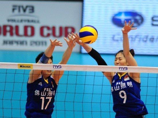 中国女排2-3卫冕冠军 决胜局领先4分遭逆转