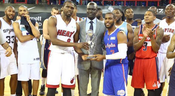 NBA非洲赛8月再度来袭 穆迪埃麦科勒姆将出战