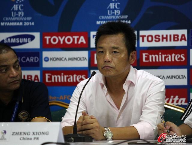 肖良志:国青短板在教练 中国教练与世界脱节