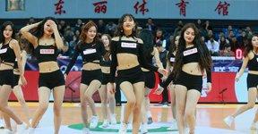 高清:篮球宝贝妩媚动人 激情热舞秀火辣身材
