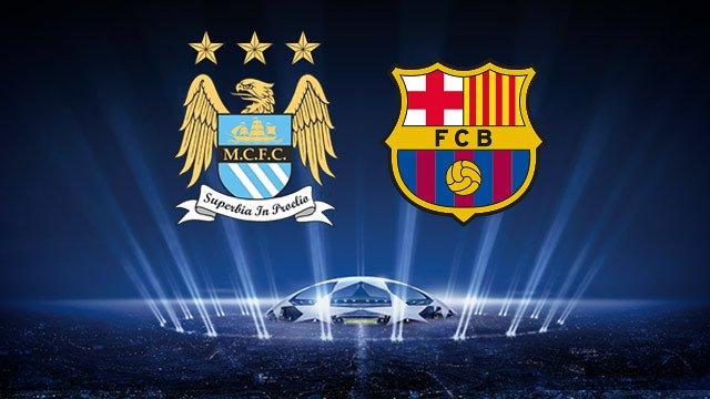 淘汰赛首回合抽签结果产生 巴萨挑战曼彻斯特城队