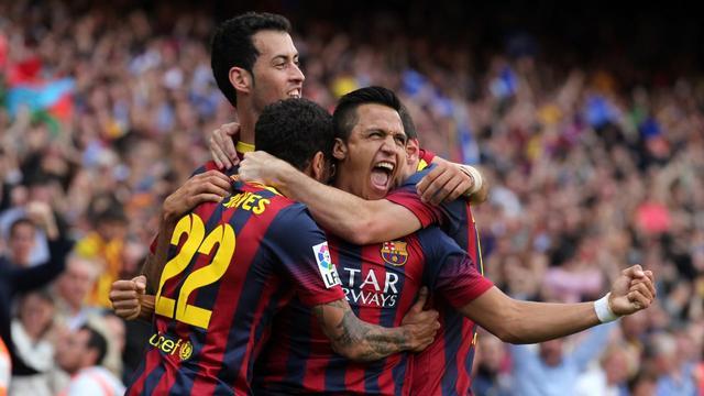 桑切斯在巴塞罗那的5大经典瞬间
