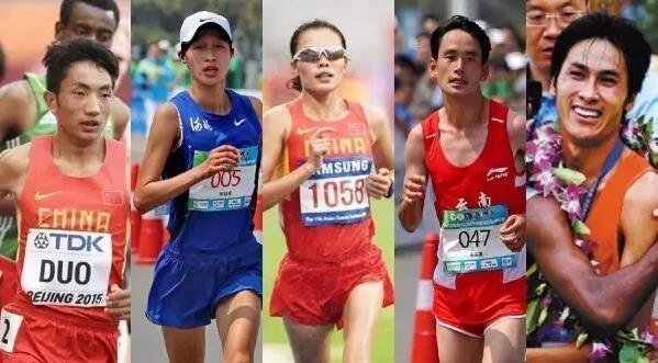 征战里约的5名中国马拉松选手 有位大三女生