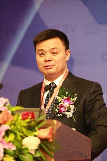 CCTV体育频道总监江和平在体育营销论坛演讲