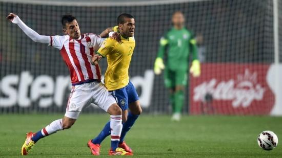 巴西点球大战不敌巴拉圭 止步美洲杯八强