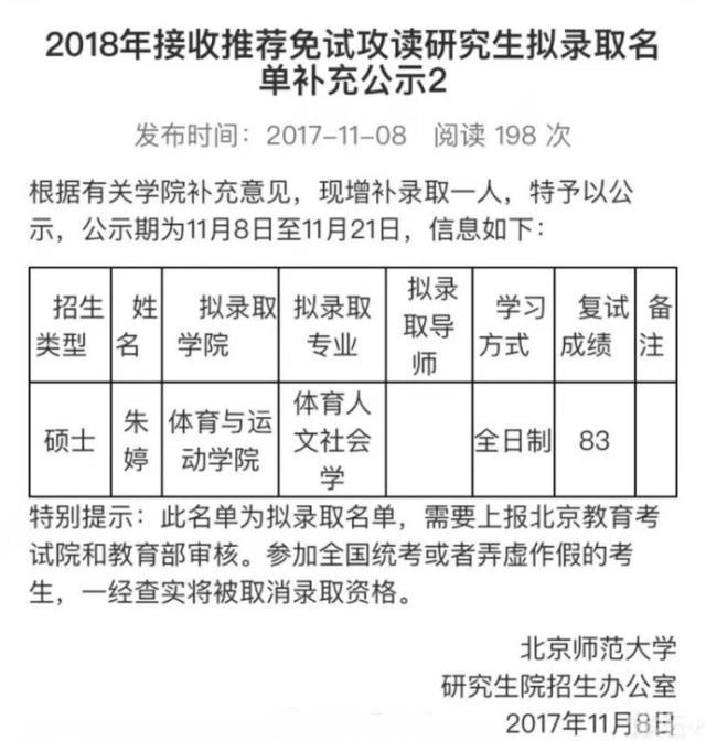 朱婷被北师大录取 归国5月打球学业学车不耽误