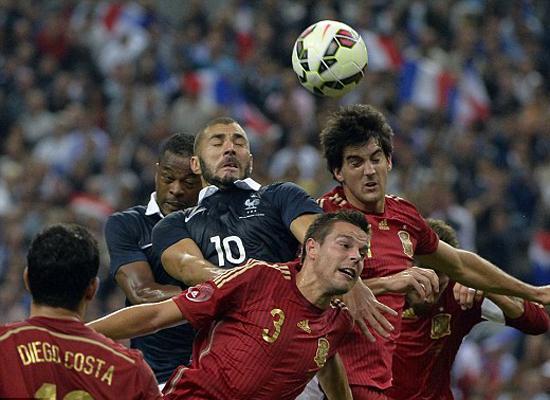 忘记里贝里! 法国踩过西班牙剑指本土欧洲杯