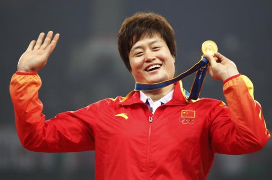 2011上海田径黄金大奖赛选手--李艳凤