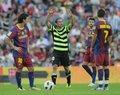 视频:巴萨爆冷不敌升班马 梅西破门被判无效