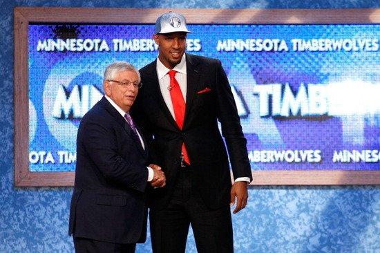 2011年NBA榜眼秀:狼队选中德里克-威廉姆斯