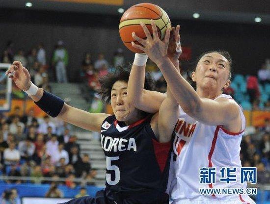 陈楠29+12女篮胜韩国出线 半决赛战中华台北