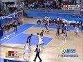 视频:男篮1/4决赛 周鹏底角三分命中