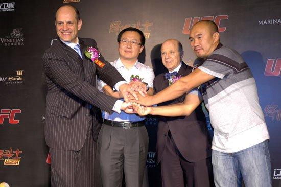 UFC与金沙中国合作 推出真人秀《终极斗士》