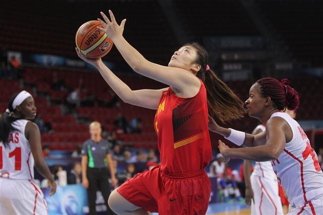 女篮世锦赛-中国26分大胜安哥拉 迎开赛首胜