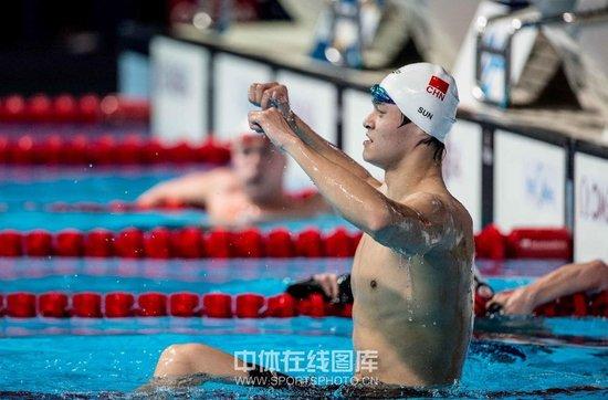 世锦赛-1500自孙杨逆转卫冕 揽三金完美收官