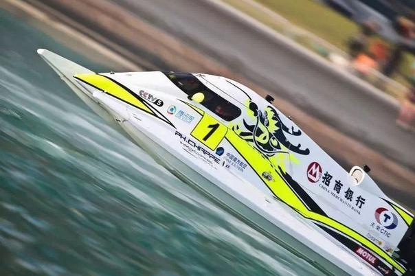 2015F1摩托艇世锦赛 中国天荣队蝉联总冠军