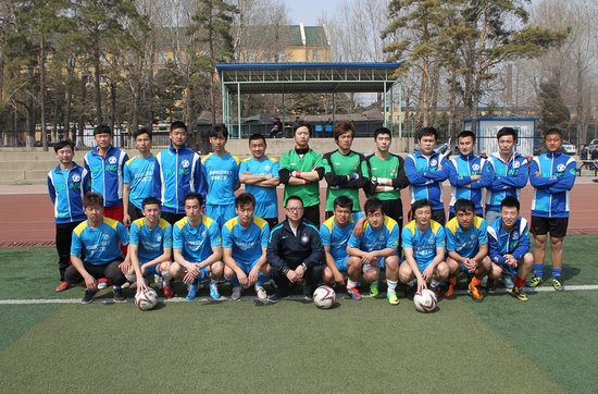 2012-13赛季五甲联赛球队 长春农商行足球队