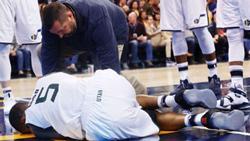曝爵士大将膝伤无大碍 倒地时被认为赛季报销