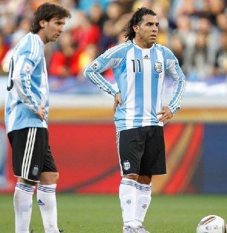 阿根廷三叉戟最后救赎 梅西特维斯怎样共存?
