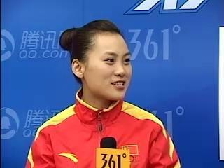 刘莎莎做客腾讯网 赛前梦到自己拿金牌唱国歌