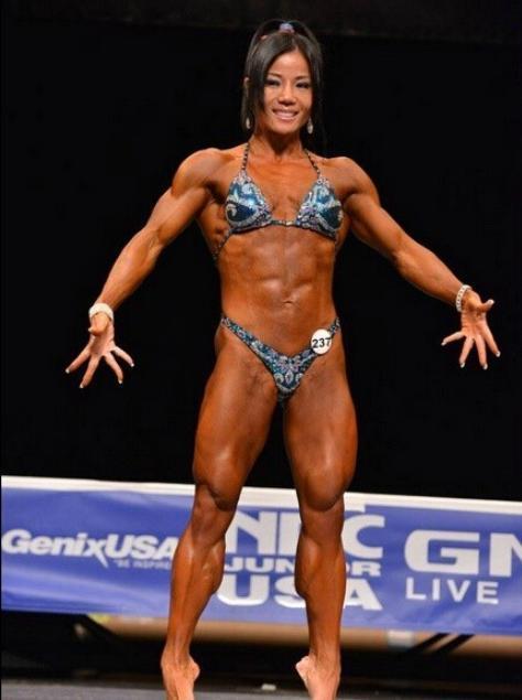 国健美比赛冠军