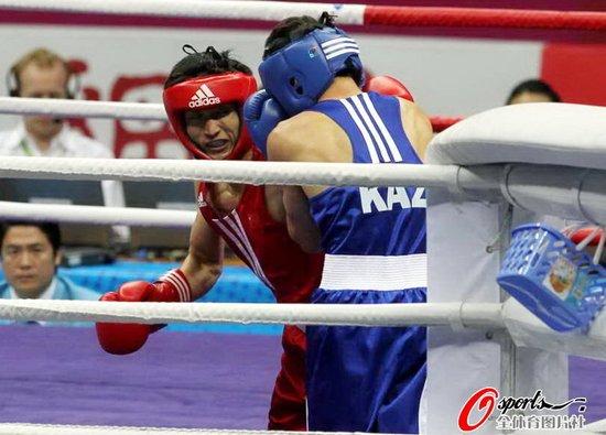 邹市明9-5绝对优势夺冠 蝉联亚运会拳击冠军