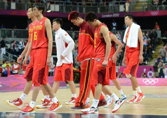 奥运5战狂输132分 2012年的中国男篮到底怎么了