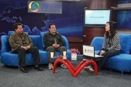 实录:王琦、潘文海做客腾讯 谈野水皮划艇