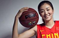女篮球员赵爽