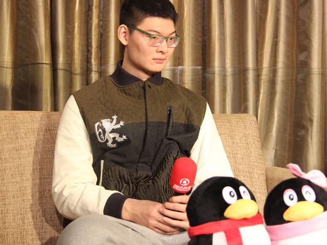 王哲林做客腾讯CBA全明星会客厅截图