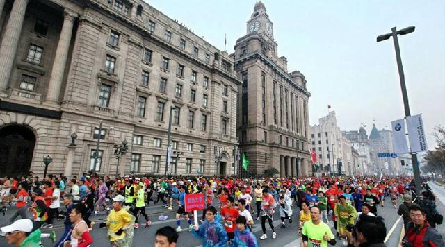 上海马拉松10月底开跑 参赛人数增加3000人