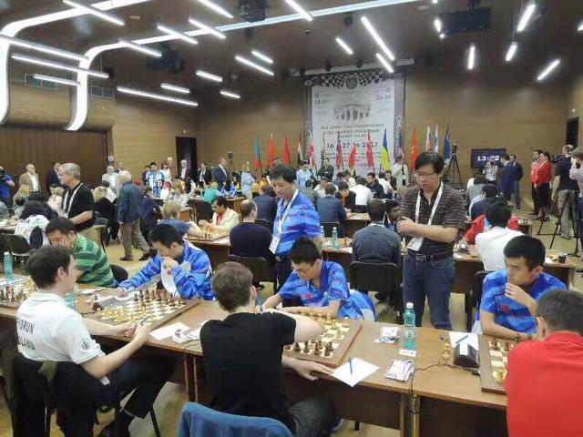 国象男队卫冕世团赛冠军 叶江川:世界超一流