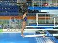 视频:女子三米板 印尼选手第三跳