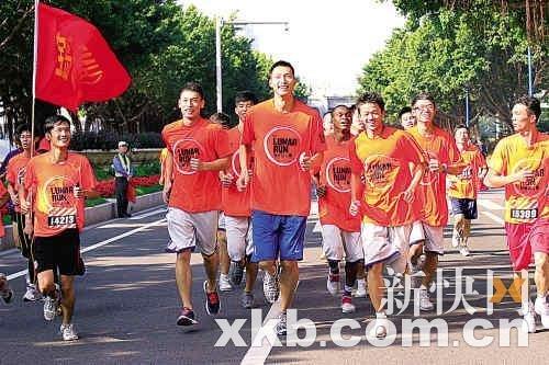 阿联广州长跑弥补亚运会遗憾 满头大汗喊过瘾