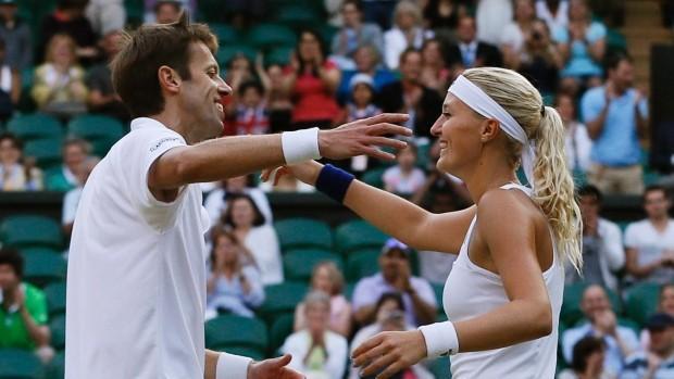 马拉德诺维奇内斯特获胜 摘本届澳网混双冠军