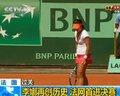 视频:李娜胜莎娃闯入法网决赛 创造亚洲历史