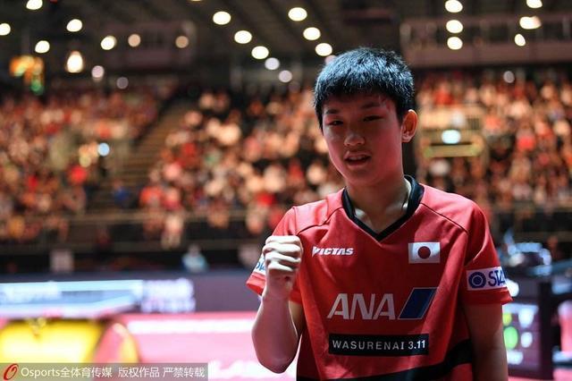 日乒小将豪言东京奥运绝对夺金:世乒赛收获成长