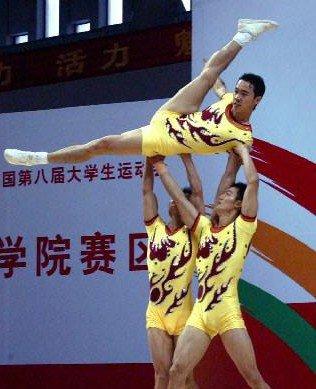 大运会健美操享较高群众基础 普及胜过竞技