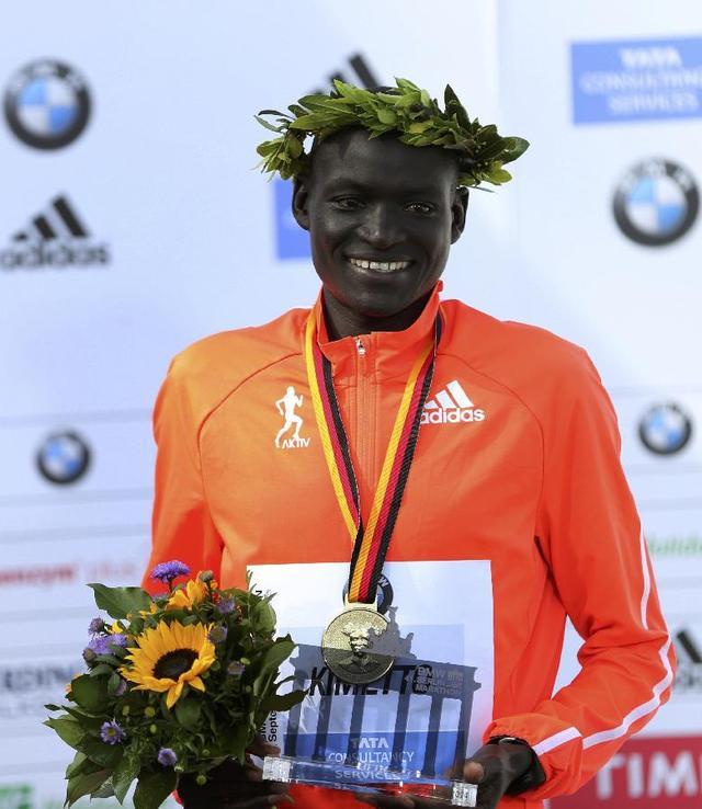 柏林马拉松再破男子世界纪录 跑进2小时3分