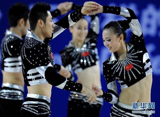 中国健美操主帅周燕:大运队是最纯粹学生军