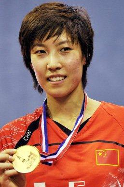 中国羽毛球名将潘攀