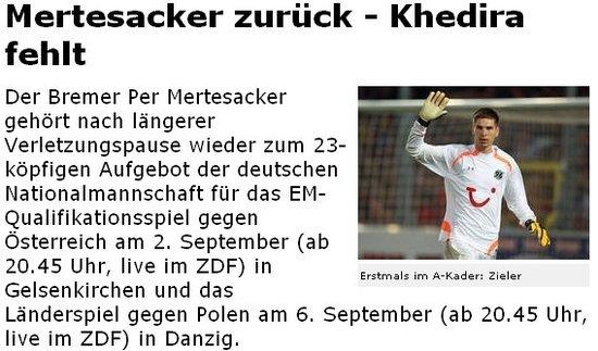 德国公布最新23人名单 厄齐尔回归拜仁8战将