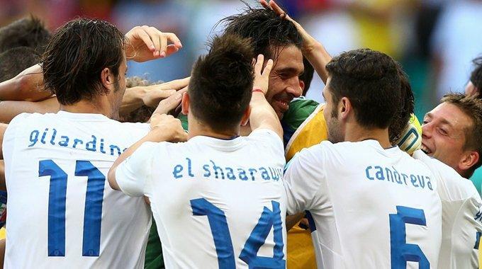 意大利点球大战胜乌拉圭夺季军 布冯惊艳三扑点球