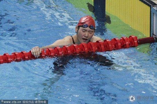 全运会叶诗文400米混合泳夺冠比世锦赛快7秒